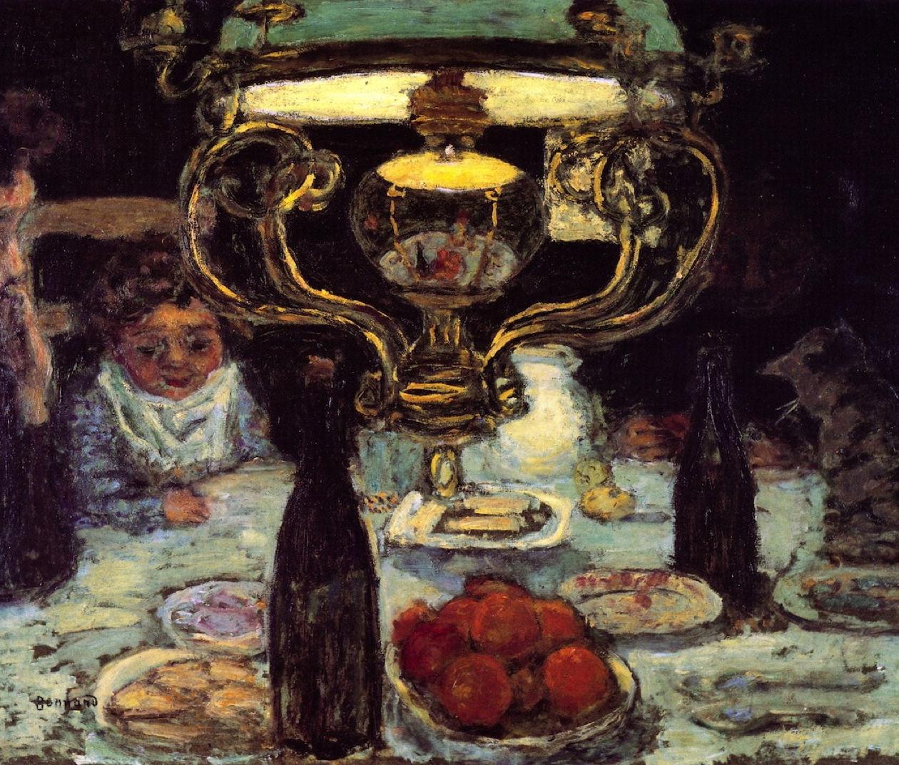 Pierre Bonnard, La Lampe, 1899 ca. Flint Institute of Arts, Flint (Michigan)