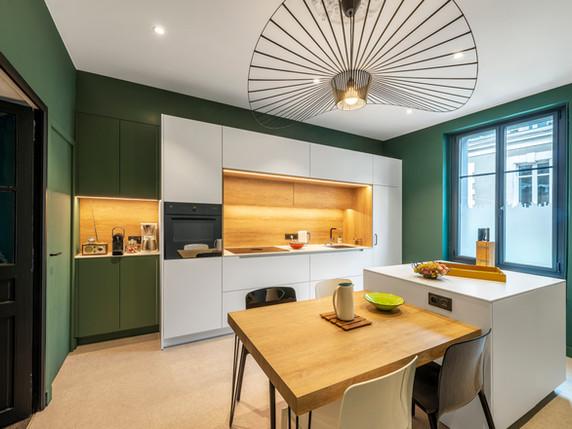 Rénovation d'une cuisine en centre-ville de Nantes
