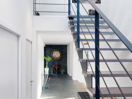 Design d'intérieur d'une très belle villa des bords de Sèvre à Nantes.