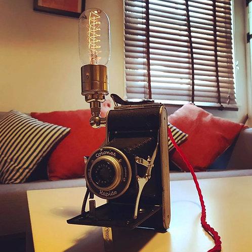 Vintage Camera Lamp- SOLD