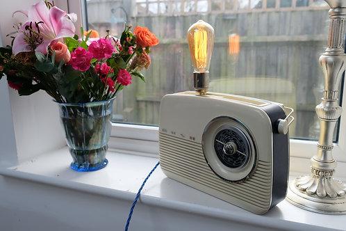 Vintage Bush Radio Lamp