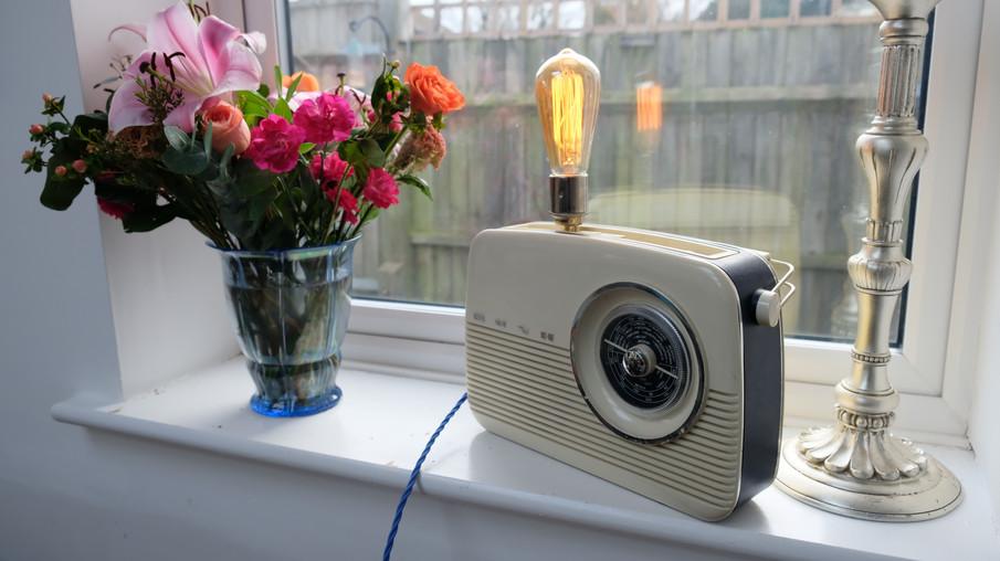 Bush Radio Lamp