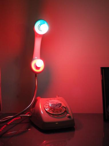 Vintage Phone Lamp