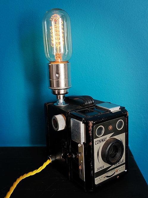 Vintage Box Camera Lamp- SOLD