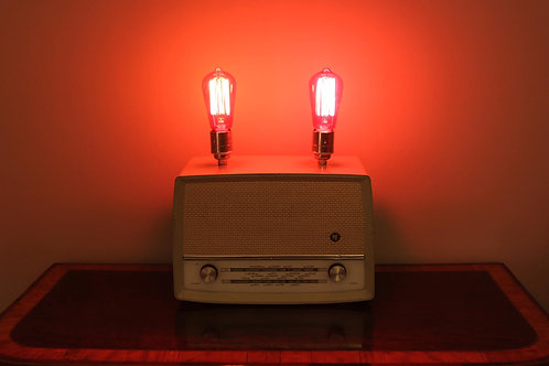 Vintage Radio Lamp- SOLD