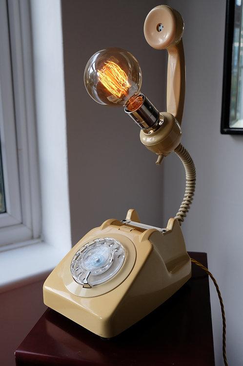 Vintage Telephone Lamp- SOLD