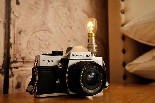 1950s Camera Lamp- SOLD