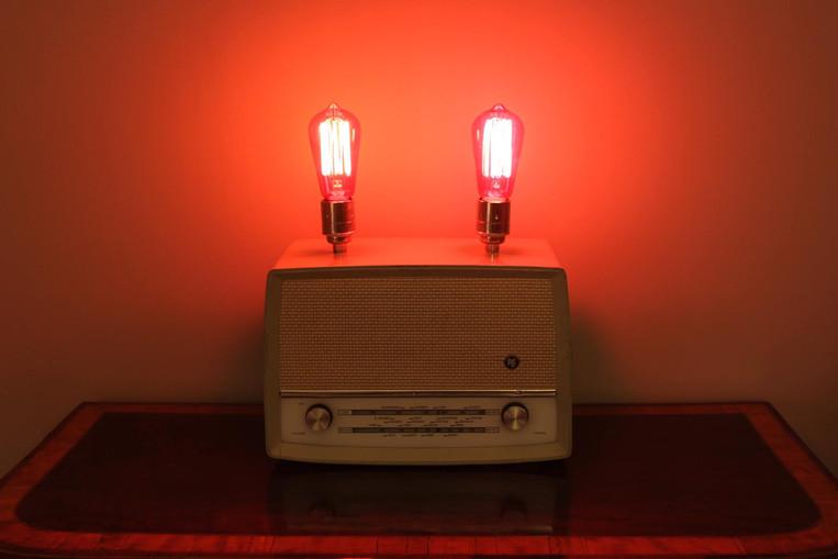 Vintage Radio Lamp