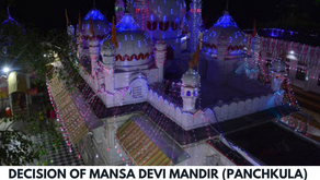 Ban on wearing of shorts and jeans in Mata Mansa Devi temple