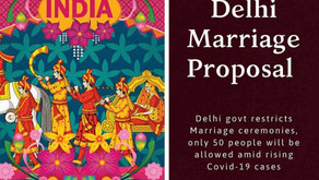 Delhi Marriage Proposal aimd Covid-19 spike