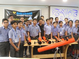 Dikshant International School brings the solar system closer to their students