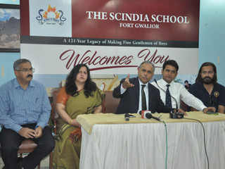 ONE OF INDIA'S FINEST BOYS' BOARDING THE SCINDIA SCHOOL, GWALIOR  COMES CALLING TO REGION