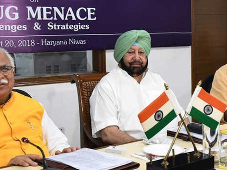 Haryana, Punjab, HP, Uttarakhand vow to fight drugs menace together