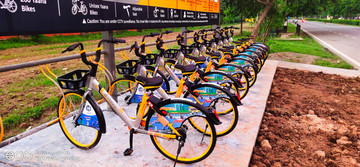 Panchkula now on the verge of being green by launching 200 bicycle on 20 stands