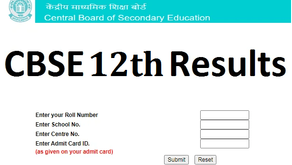 CBSE Board 12th results to be declared today at 2 pm, see results at cbseresults.nic.in