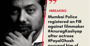 Mumbai Police registered FIR against filmmaker Anurag Kashyap, actress Payal Ghosh sexual Misconduct
