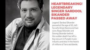 HEARTBREAKING! LEGENDARY SINGER SARDOOL SIKANDER PASSED AWAY