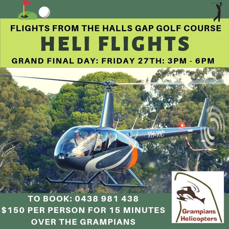 from Halls Gap Golf Course