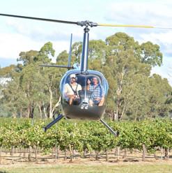 Landing for wine
