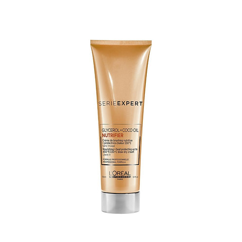 NUTRIFIER - Nourishing Thermo-Protective Blow Dry Crème 150mls