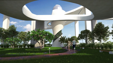 Sky Observatory at Vivaan Apartments