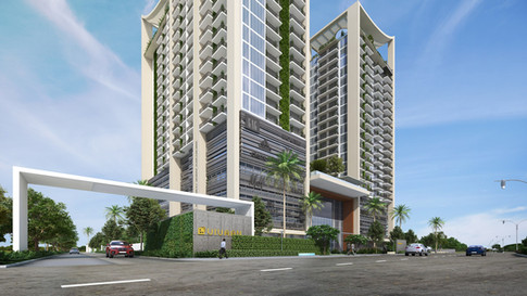 Vivaan Apartments & Commercial Entrance