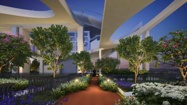 Vivaan Apartments Sky Deck: Running Track
