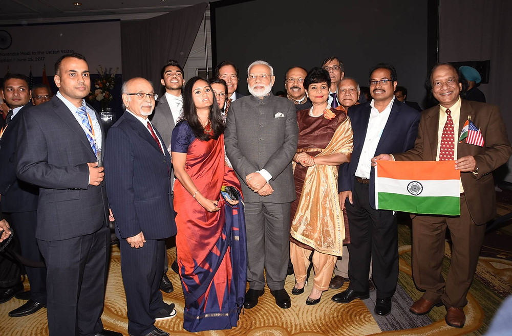 Volunteering for the visit of Prime Minister Modi