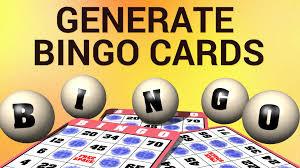 Генератор карточек для «Бинго»