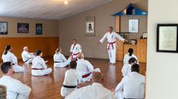Sei Shihan Michael takes a class at 40th