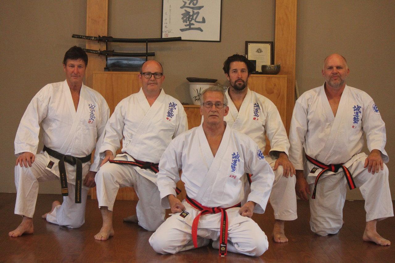 Seido Te Awamutu Instructors