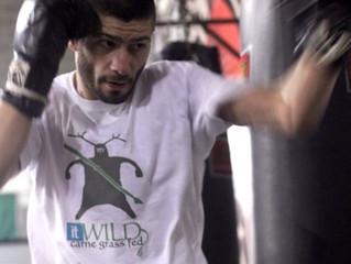 Massimiliano Ballisai sul ring di Parigi con il marchio It Wild