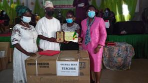 LAGOS EDUCATION DISTRICT HOLDS 14TH TEACHERS' MERIT AWARD … TG/PS Says Teachers Are Silent Heroes