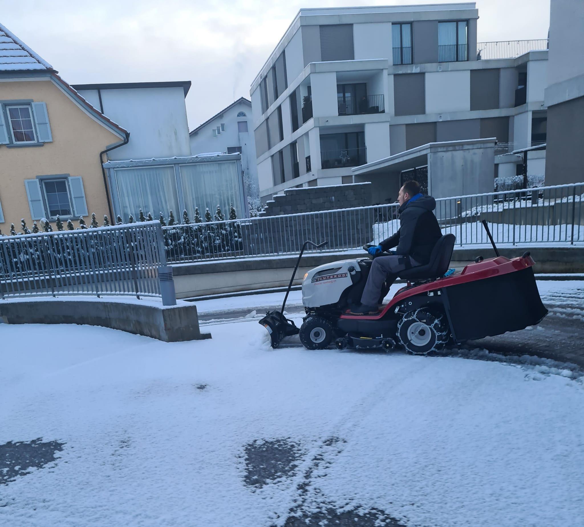 Schneereinigung