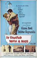 It Started with a Kiss (1959) movie post