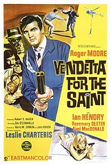 Vendetta For The Saint 1969 MOVIE poster