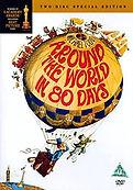 Around World in 80 Days 1956 movie poste