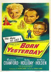 Born Yesterday (1950) Movie poster4 0613