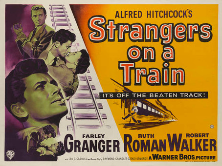 Strangers on a Train (1951) RATED-M15+