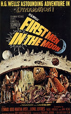 First Men in the Moon (1964) movie poste