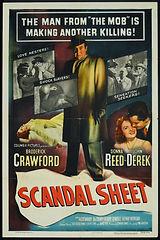 Scandal Sheet (1952) movie poster2 09022