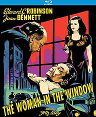THE WOMAN IN THE WINDOW (1944) movie POS