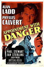 APPOINTMENT WITH DANGER (1951) movie pos