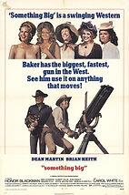 Something Big (1971) movie poster4 07072