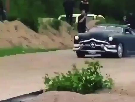 Cars Racing on Dirt