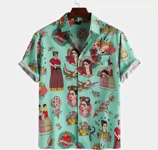 Bindani studio Emoji design premium cotton shirt