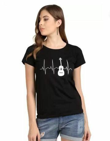 Trendy Guitar T-shirt
