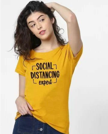 Trendy printed T-shirt