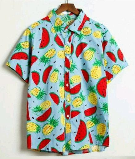 Bindani studio Fruits design premium cotton shirt