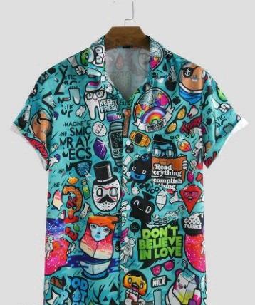 Bindani studio Cartoon design premium cotton shirt